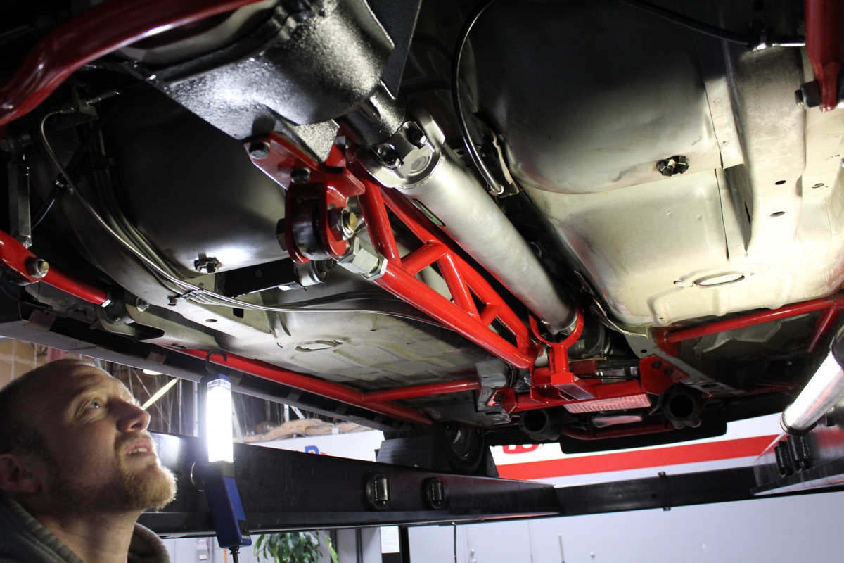 Project Respect: We Get Planted With A Spohn Performance Torque Arm