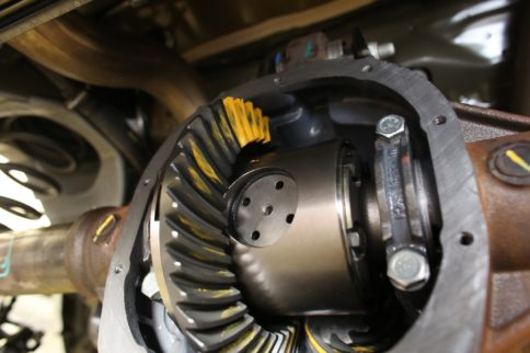 '13 Mustang Differential and Gear Upgrade With Eaton and Motive Gear