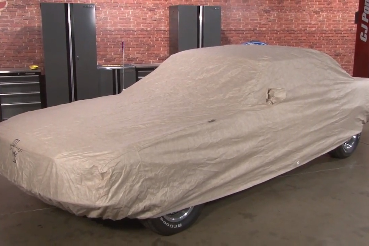 Video: CJ Pony Parts Shows Off CoverCraft Custom Covers For Mustangs