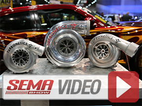 SEMA 2013: Turbonetics Takes A Fresh Approach To New Lineup