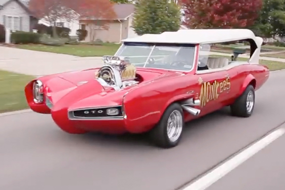 Video: Hey, Hey It's The Monkeemobile, Passed Up For $1,000!