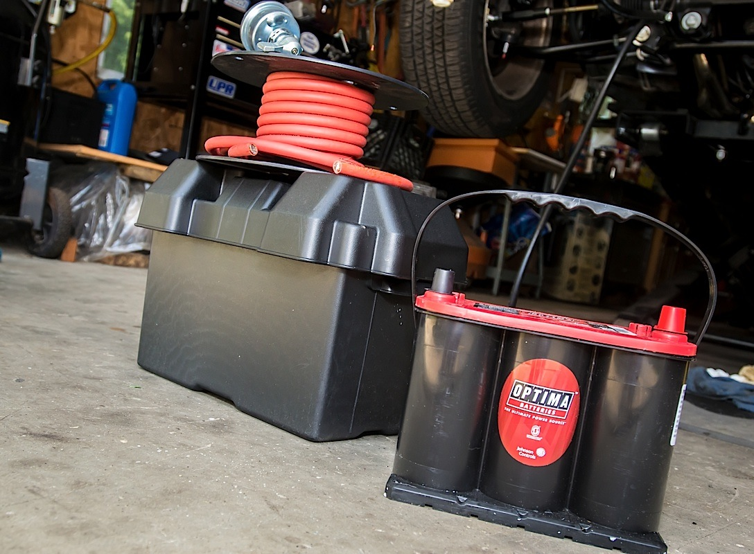 Battery Relocation With Accel and Optima On Our Fox Body Mustang