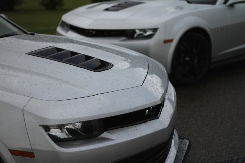Behind the Wheel: A Wet and Wild Track Day with the Camaro Z/28
