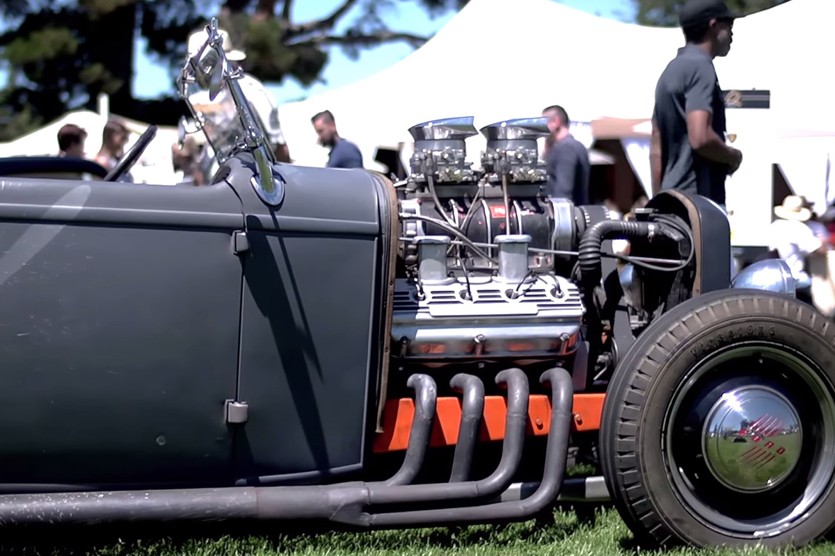 Video: Vintage Built '32 Ford Went 200mph In 1960 And Still Drives