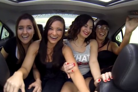 Video: Five Girls and an 800-Horsepower CTS-V