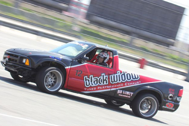 Video: A Drifting Chevy LS Powered S10 Tears Up An Autocross Track