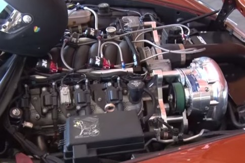 """Video: The """"PumpKing"""" C6 'Vette Takes On the MK3 Supra From Hell"""