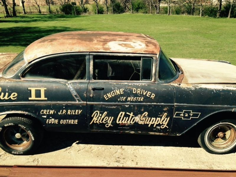 Blue II: A Former Local Drag Racing Legend 56 Chevy - Street Muscle