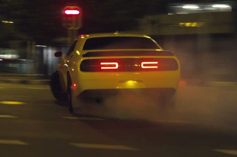 """Video: A Closer Look At The Hellcat """"Airlift Drift"""" Commercial"""