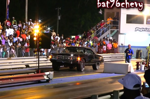 Video: Z06 Donk Takes To The 1/8-Mile For Some Fun
