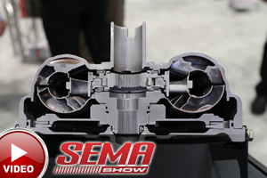 SEMA 2015: TCI's Single Disc Bolt-Together Converters, New Shifters