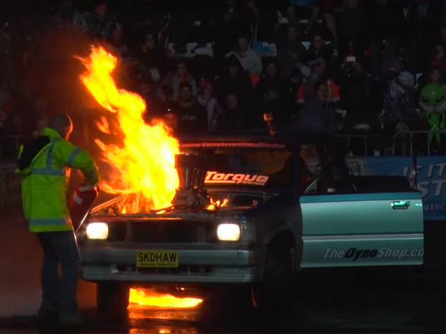 Video: Australian Burnout Competitions Are Insane