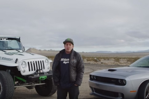 Video: Casey Currie Ditches The Wrangler For A Hellcat
