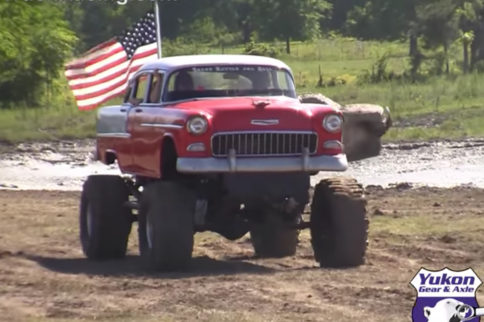 Video: Mudding In A Bel Air – Monster Truck or Classic Chevrolet?