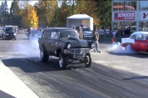 Video: An 11 Second 1957 Ford Gasser Wagon