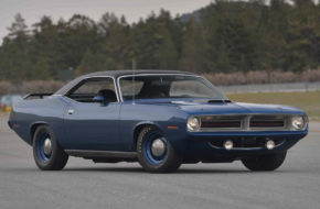 Jamaican Blue 1970 Plymouth Hemi Cuda Headed to Mecum Next Month