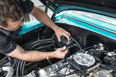 Carburetor To Fuel-Injected LS With Edelbrock's Fuel Sump System