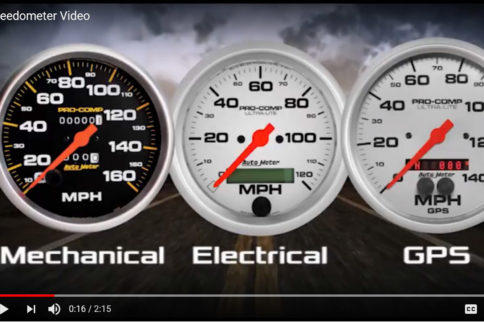 Speedometer Selection With Classic Dash: Cable, Electronic, Or GPS