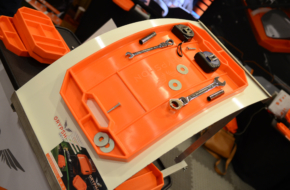 PRI 2017: The Now-Famous Non-Slip, Flexible Grypmat Tool Tray