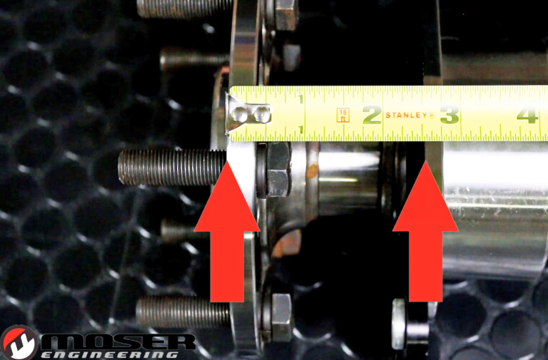 Video: Moser explains 'axle hangout' and how to measure it