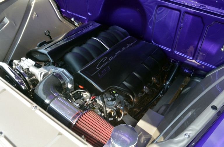 All In the Family: Randy Eckhardt's LS3-Powered 1955 Cameo Pickup