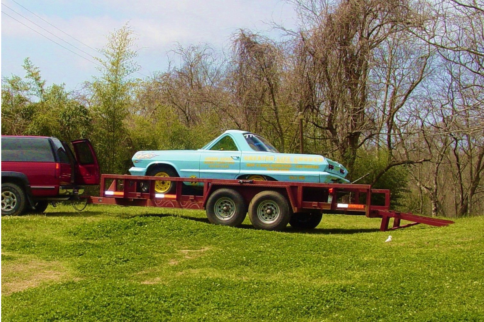 It May Be Short, But At Least It Can Be Fast: '63 Impala Shorty Drag