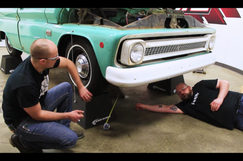 Adjust '63-'87 Chevy C10 Front Suspension Like A Pro With QA1