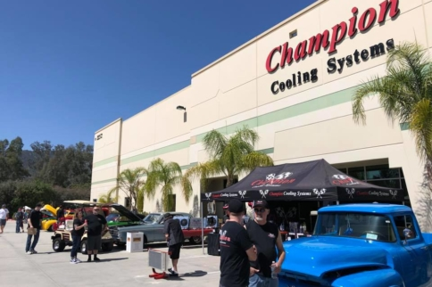 Video: Inaugural Champion Cooling Car Show